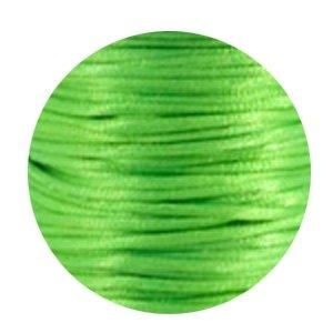 Satijnkoord neon groen