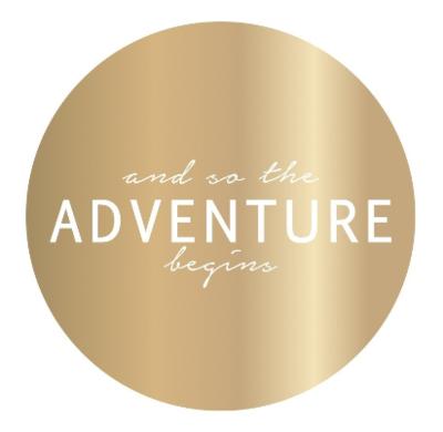 Sticker Adventure gold