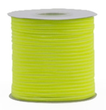 Velvet ribbon neon yellow