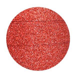 Krullint glitter koraal