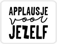 Lotsoflo Sticker Applausje voor jezelf