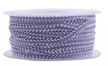 Ribbon Tinne+Mia purple/off white