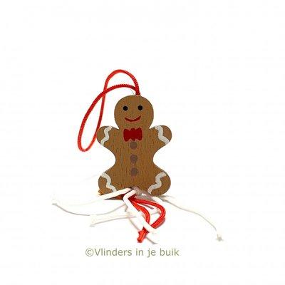 Gelukspoppetjes Gingerbread mannetje