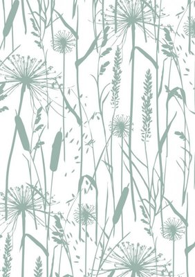 Cadeaupapier Grasses mint