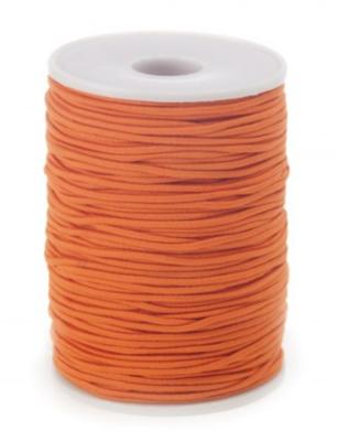 Elastic band orange 2mm