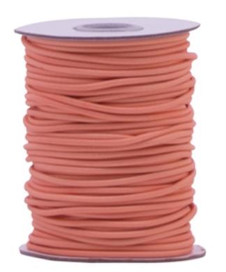 Elastic band Peachy pink