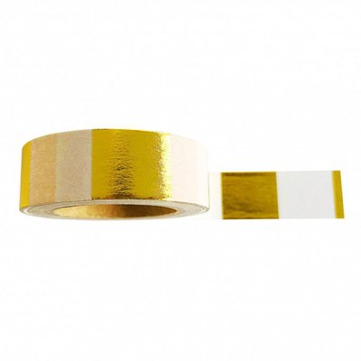 Masking tape Goldfoil white