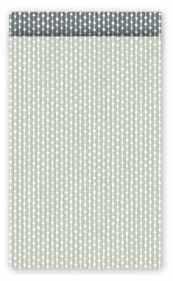 Cadeauzakjes Connecting dots naturel salie/grijs 12 x 19