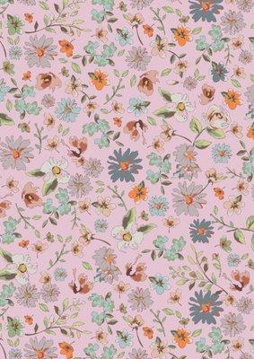 Cadeaupapier Beautiful flowers pink
