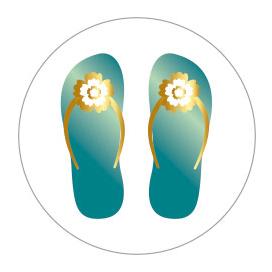 Sticker Slippers