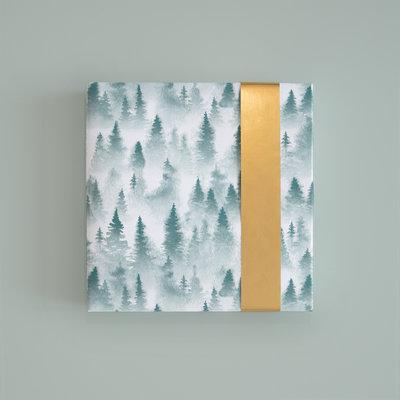 Cadeaupapier X-mas forest
