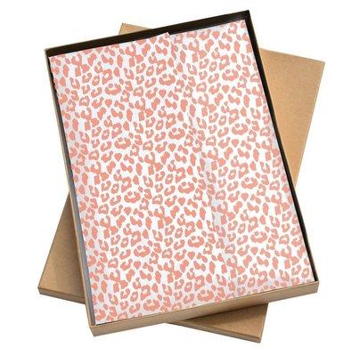 Vloeipapier Cheetah rosegoud