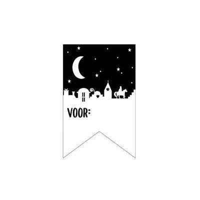 Sticker Vaantje Nacht