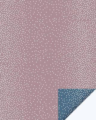 Cadeauzakjes Dots mauve/nightblue 12 x 19