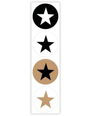 Sticker Sterren mix