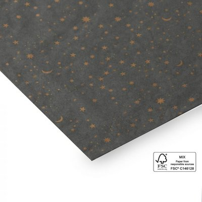 Vloeipapier Universe grey