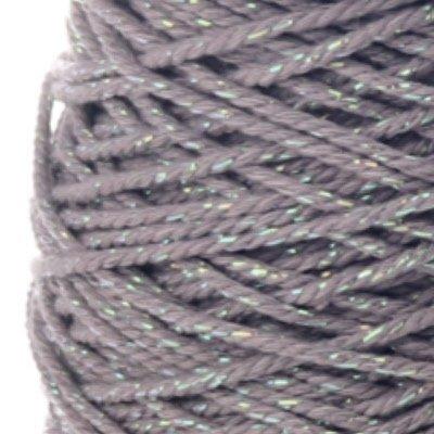 Cotton cord Irisé taupe parelmoer roll