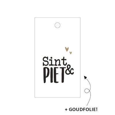 Cadeaulabel Sint & Piet