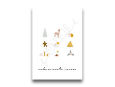 Ansichtkaart Christmas