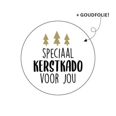 Sticker Speciaal kerstkado voor jou