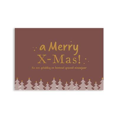 Ansichtkaart A Merry X-MAS