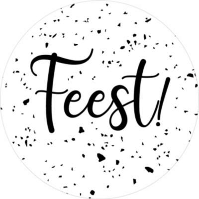 Sticker Feest dots XL