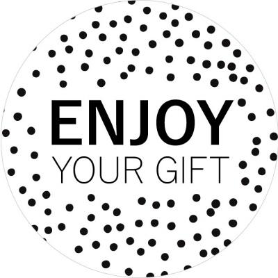 Sticker Enjoy your gift XL