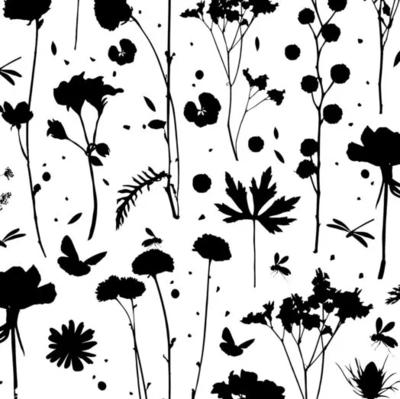Vloeipapier Grow zwart