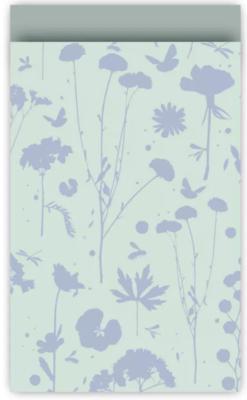 Cadeauzakjes Grow mint/blauw/salie 12 x 19