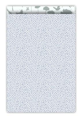 Cadeauzakjes Spring cubes blauw/salie 17 x 25
