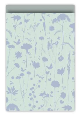 Cadeauzakjes Grow mint/blauw/salie 17 x 25
