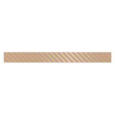 Krullint Stripes gold/pink