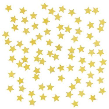 Zakje confetti gouden sterretjes