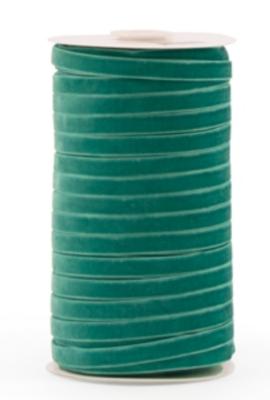 Velvet ribbon 9mm Turquoise