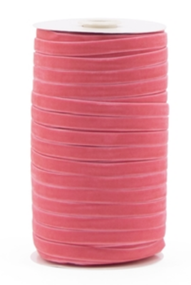 Velvet ribbon 9mm Pink