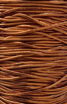 Elastic band copper 1mm