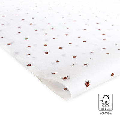 Vloeipapier Ladybug