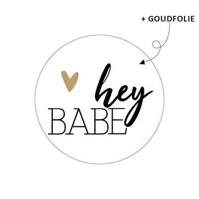 Sticker Hey babe