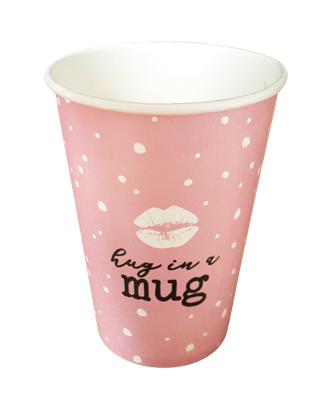 Beker Hug in a mug
