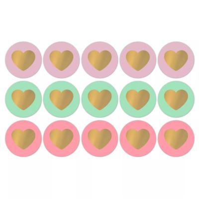 Sticker Lovely hearts fresh sorbet