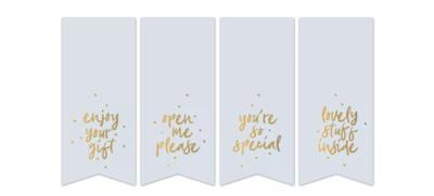 Stickers Vaantje sweet message mint