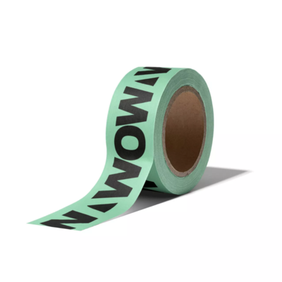Masking tape WOW statement fresh mint/zwart