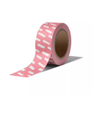 Masking tape Open spaces neon/wit