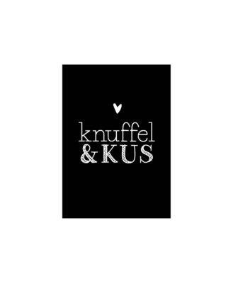 Cadeaukaart Knuffel & kus