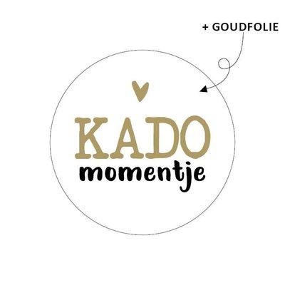 Sticker Kado momentje