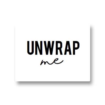 Lotsoflo Sticker Unwrap me