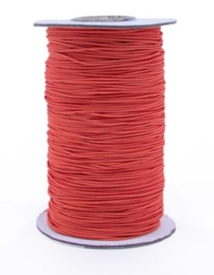 Elastic band Poppy red