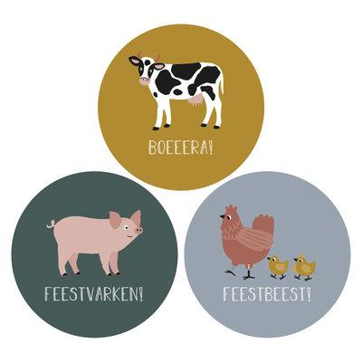 Stickers Boerderij