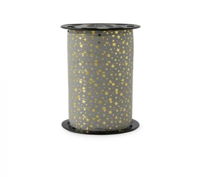 Krullint Stars - gold grey blue