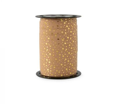 Krullint Stars - gold warm pink